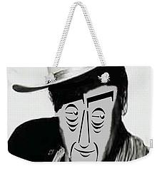 Typortraiture John Wayne Weekender Tote Bag