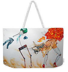 Tyrants Of Desire Weekender Tote Bag by Lazaro Hurtado
