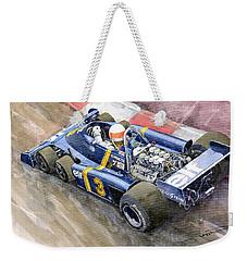 Tyrrell Ford Elf P34 F1 1976 Monaco Gp Jody Scheckter Weekender Tote Bag