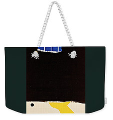 U R Either In Or Out Or Both _ Period  Weekender Tote Bag