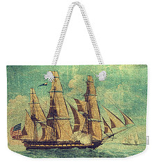 U S S Constitution 1803-1804 Weekender Tote Bag by Mim White