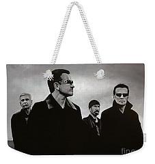 U2 Weekender Tote Bag by Paul Meijering