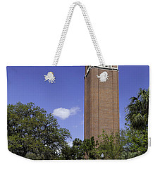 Uf Century Tower And Newell Drive Weekender Tote Bag by Lynn Palmer