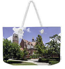Uf University Auditorium And Century Tower Weekender Tote Bag by Lynn Palmer