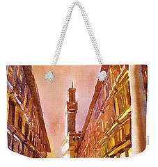Uffizi- Florence Weekender Tote Bag by Ryan Fox