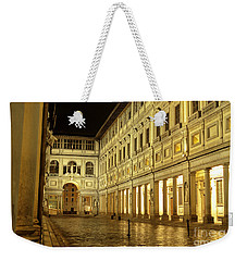 Uffizi Gallery Florence Italy Weekender Tote Bag by Ryan Fox
