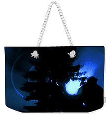 Ufo Landing Weekender Tote Bag