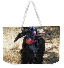 Ugly Bird Ball Weekender Tote Bag by Donna Blackhall