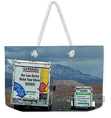 Uhaul On The Move Weekender Tote Bag