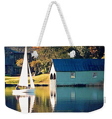 Weekender Tote Bag featuring the photograph Ullswater by Linsey Williams