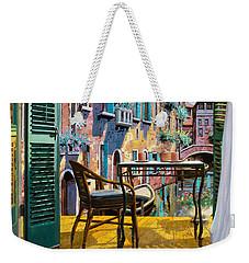 Un Soggiorno A Venezia Weekender Tote Bag by Guido Borelli