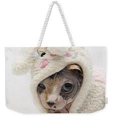 Unamused Weekender Tote Bag