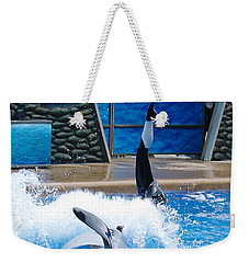 Weekender Tote Bag featuring the photograph Unbelievable by David Nicholls