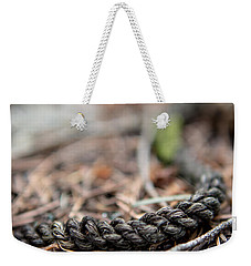 Weekender Tote Bag featuring the photograph Unbound by Aaron Aldrich