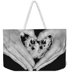 Unconditional Love Weekender Tote Bag by Andrea Auletta