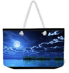 Under A Silvery Moon... Weekender Tote Bag by Tim Fillingim