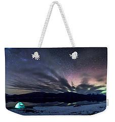 Under Big Skies Weekender Tote Bag