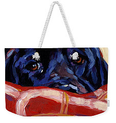 Under Cover Weekender Tote Bag