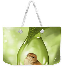 Under Protection Weekender Tote Bag