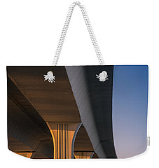 Under The Bridge Weekender Tote Bag by Jola Martysz