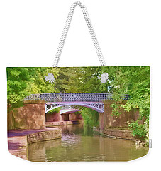 Under The Bridges Weekender Tote Bag