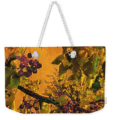 Under The Chokecherry Tree Weekender Tote Bag
