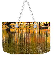 Under The Dock Weekender Tote Bag
