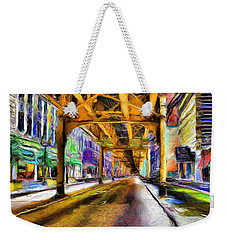 Under The El - 20 Weekender Tote Bag