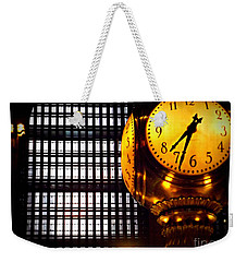 Under The Famous Clock Weekender Tote Bag
