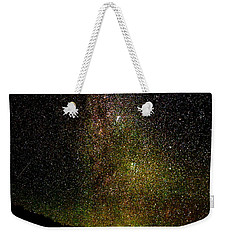 Weekender Tote Bag featuring the photograph Under The Milky Way by Greg Norrell