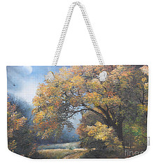 Under The Moonlight  Weekender Tote Bag by Sorin Apostolescu
