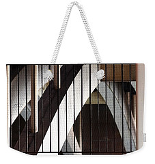 Weekender Tote Bag featuring the photograph Under The Overground by Rona Black