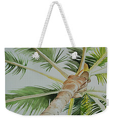 Under The Palm Weekender Tote Bag