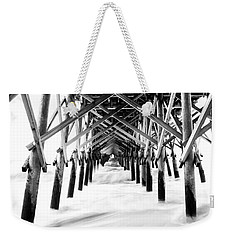 Under The Pier Folly Beach Weekender Tote Bag