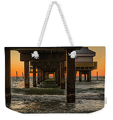 Under The Pier Weekender Tote Bag by Jane Luxton