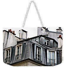 Under The Rooftops Of Paris Weekender Tote Bag