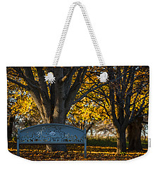 Weekender Tote Bag featuring the photograph Under The Tree by Sebastian Musial