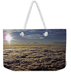 Weekender Tote Bag featuring the photograph Undercast And Sun by Greg Reed