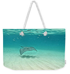 Underwater Flight Weekender Tote Bag