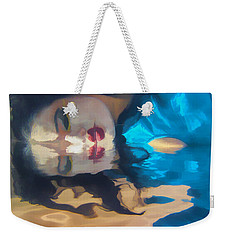 Underwater Geisha Abstract 1 Weekender Tote Bag