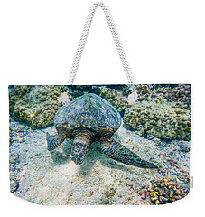 Swimming Turtle Weekender Tote Bag