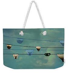 Underwear On A Washing Line  Weekender Tote Bag