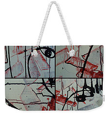 Weekender Tote Bag featuring the photograph Unfaithful Desire Part One by Sir Josef - Social Critic - ART