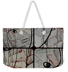 Weekender Tote Bag featuring the photograph Unfaithful Desire Part Two by Sir Josef - Social Critic - ART