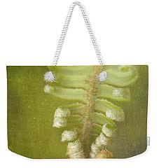 Unfurling Fern Weekender Tote Bag