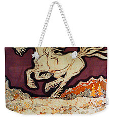 Unicorn Above Chasm Weekender Tote Bag