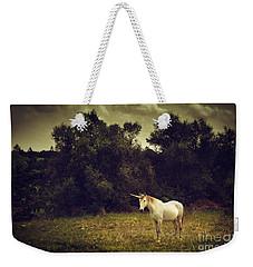 Unicorn Weekender Tote Bag by Carlos Caetano