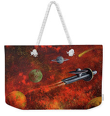 Unidentified Flying Object Weekender Tote Bag