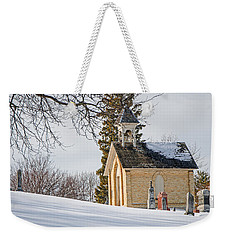 Union Cemetery Chapel Weekender Tote Bag by Susan  McMenamin