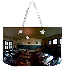 Union  Illinois One Room School House Weekender Tote Bag by Tom Jelen